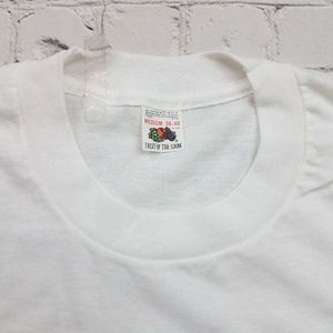 Original 1980's Fruit Of The Loom Blank T-Shirt